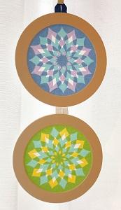 14切り紙で作るステンドグラス~光のアート ローズウィンドウ~ ☆満員御礼☆